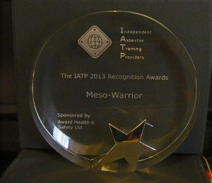 IATP 2013 Meso Warrior Award