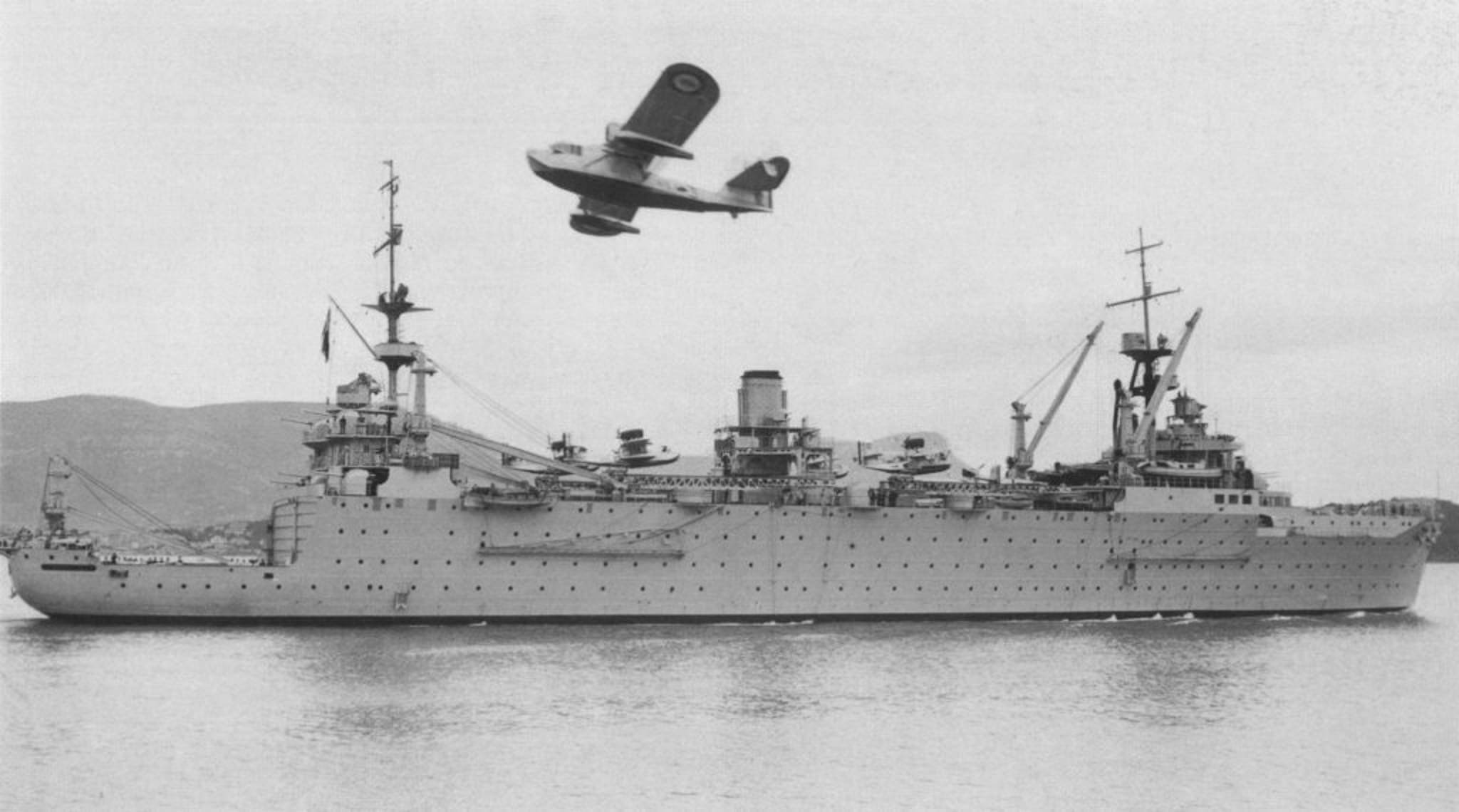 Seaplane Tenders with Asbestos