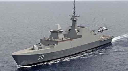 US Navy Frigates
